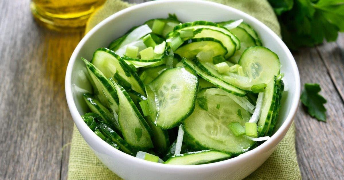 recette concombre