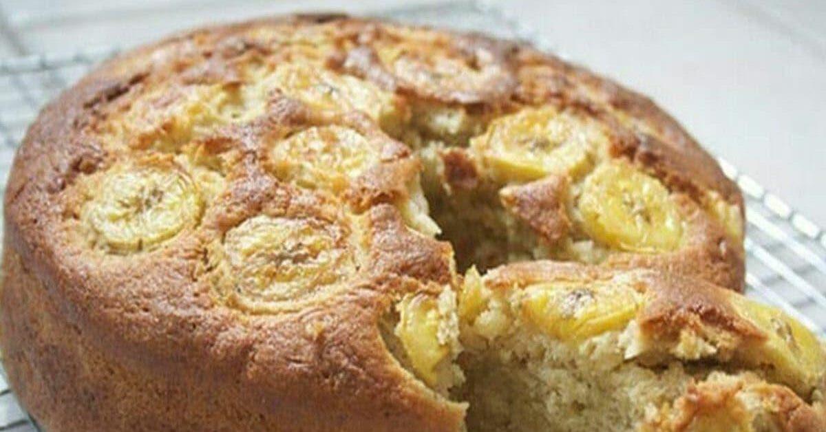 recette le gateau aux bananes sans sucre sans farine sans lait mais avec un gout inoubliable 1