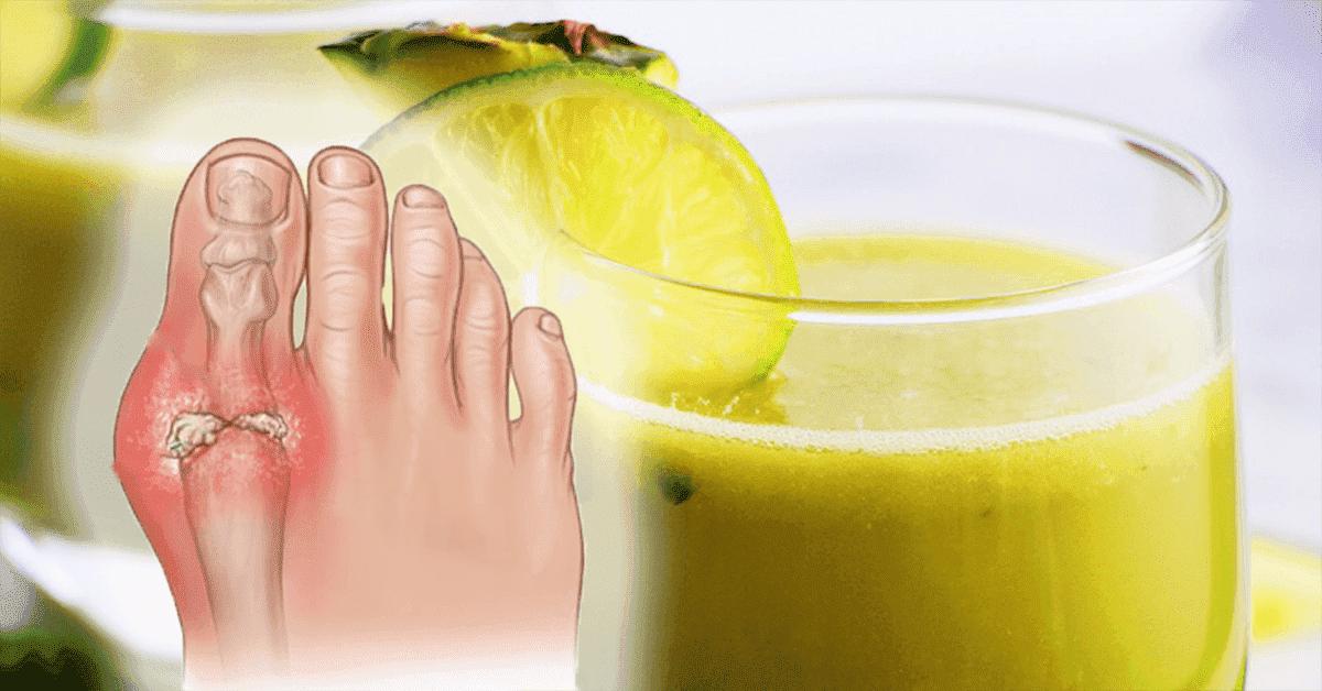 recette un delicieux jus au citron qui soulage la crise de la goutte et les douleurs aux articulations 1 1