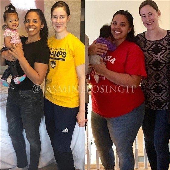 Cette femme a perdu 54 kilos en moins d'un an grâce à un régime