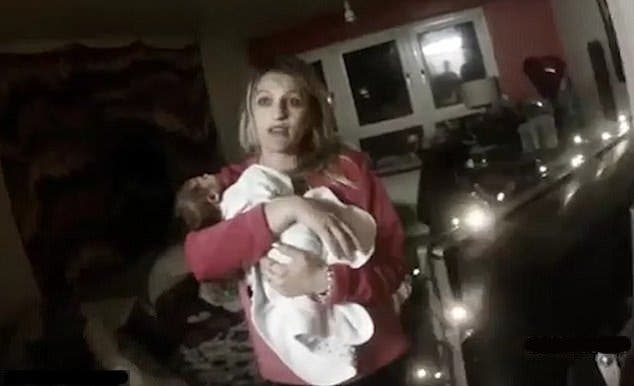 roxanne et son bebe