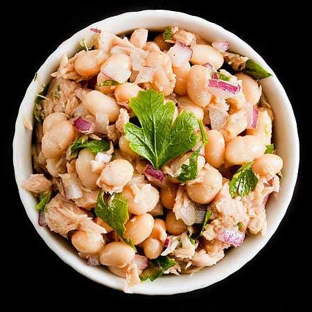 salade haricots thon