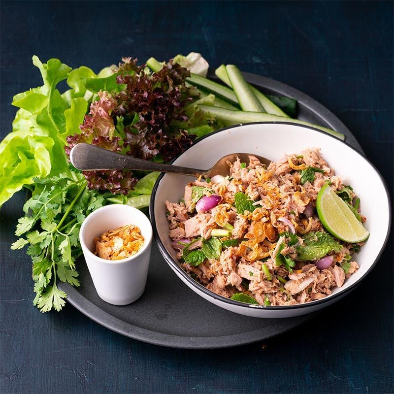 salade thon epicee thailandaise