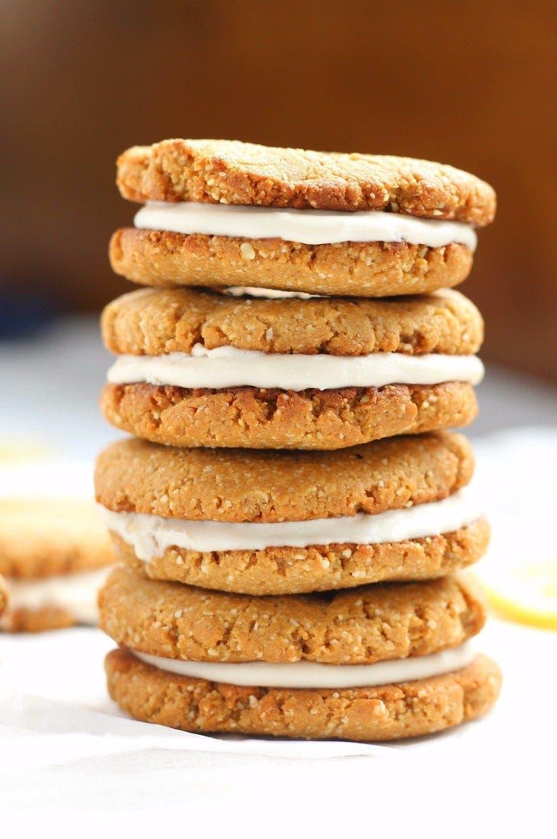 sandwich cookies au citron 1 1