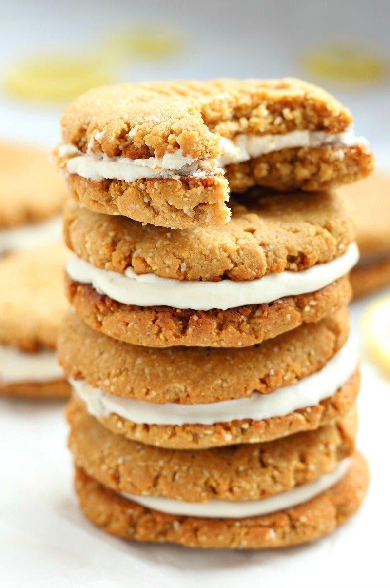 sandwich cookies au citron 2 1 1