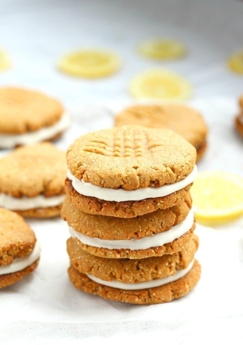 sandwich cookies au citron 3 1 1