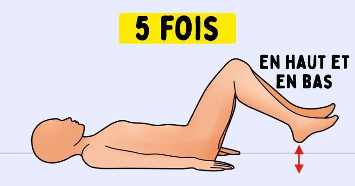 7 exercices pour soulager la douleur du nerf sciatique en quelques minutes