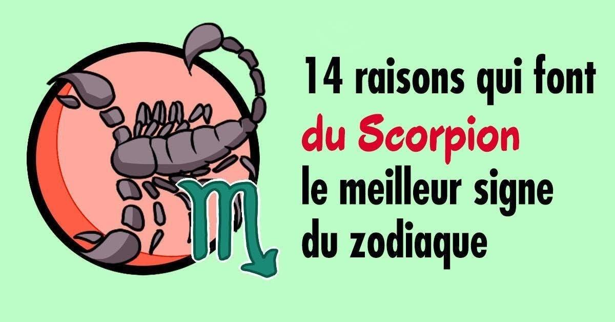 raisons qui font du Scorpion le meilleur signe du zodiaque