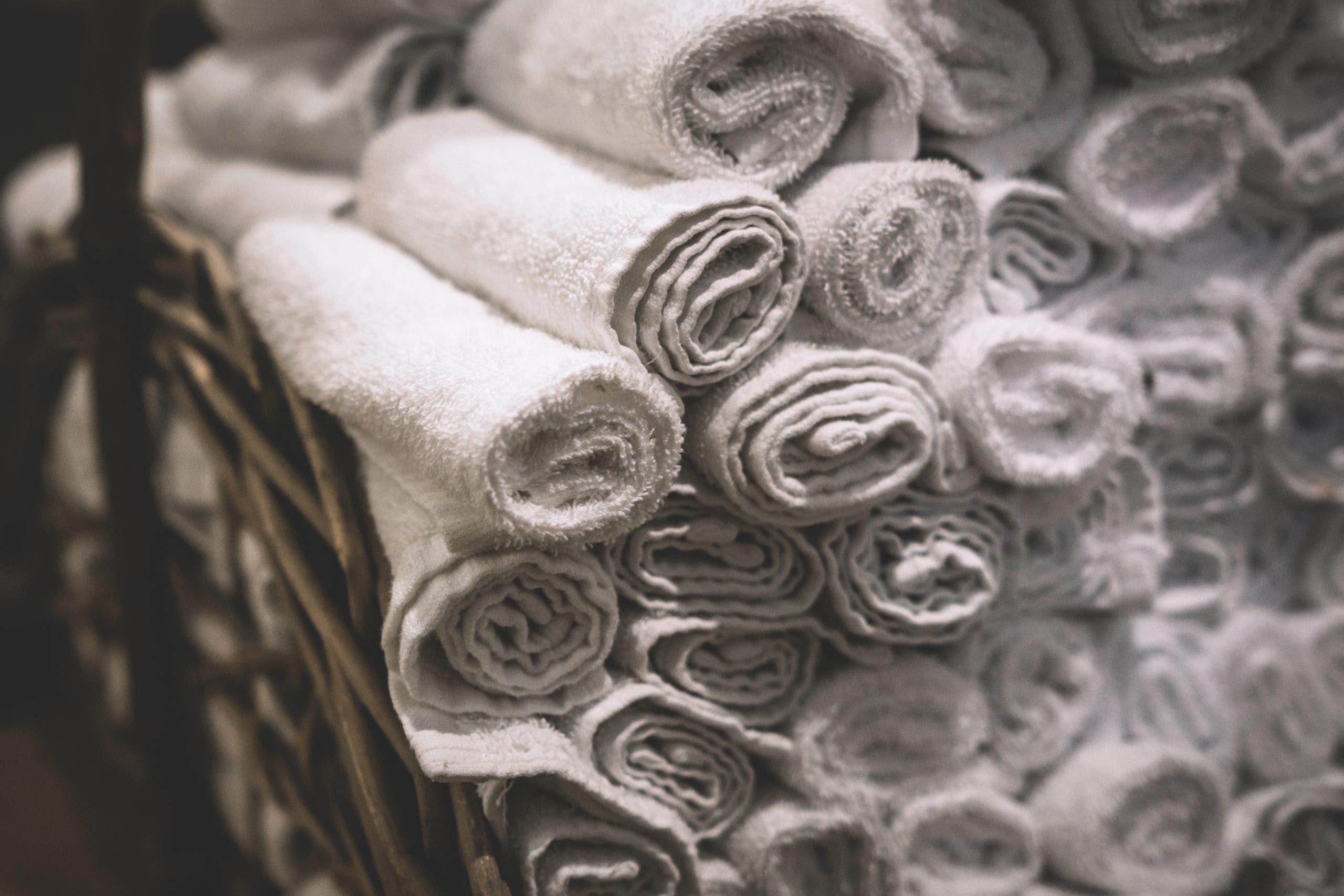 serviette humide