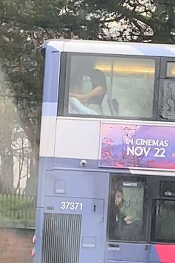 sexe dans le bus