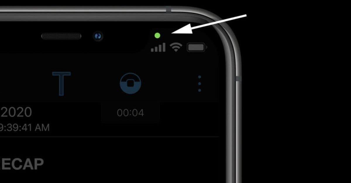 si votre iphone a un point vert dans ios 14 votre camera pourrait etre en train de vous espionner 1