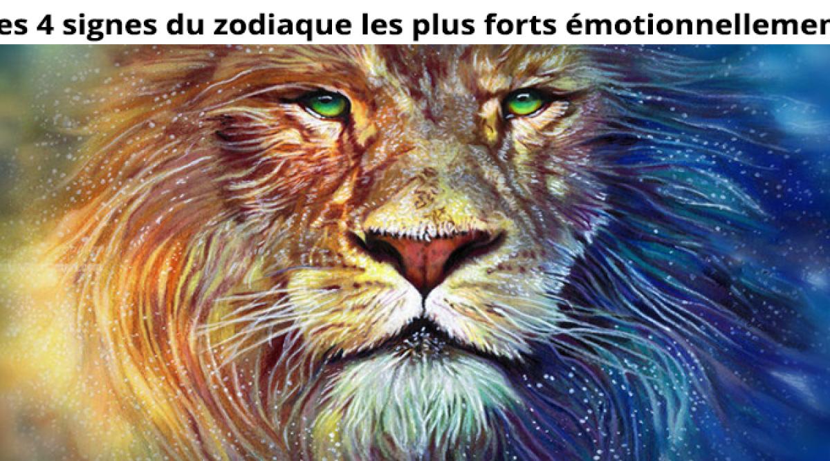 signes du zodiaque les plus forts émotionnellement