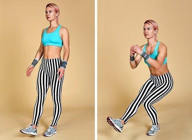 exercices pour raffermir vos fesses et vos jambes en un rien de temps