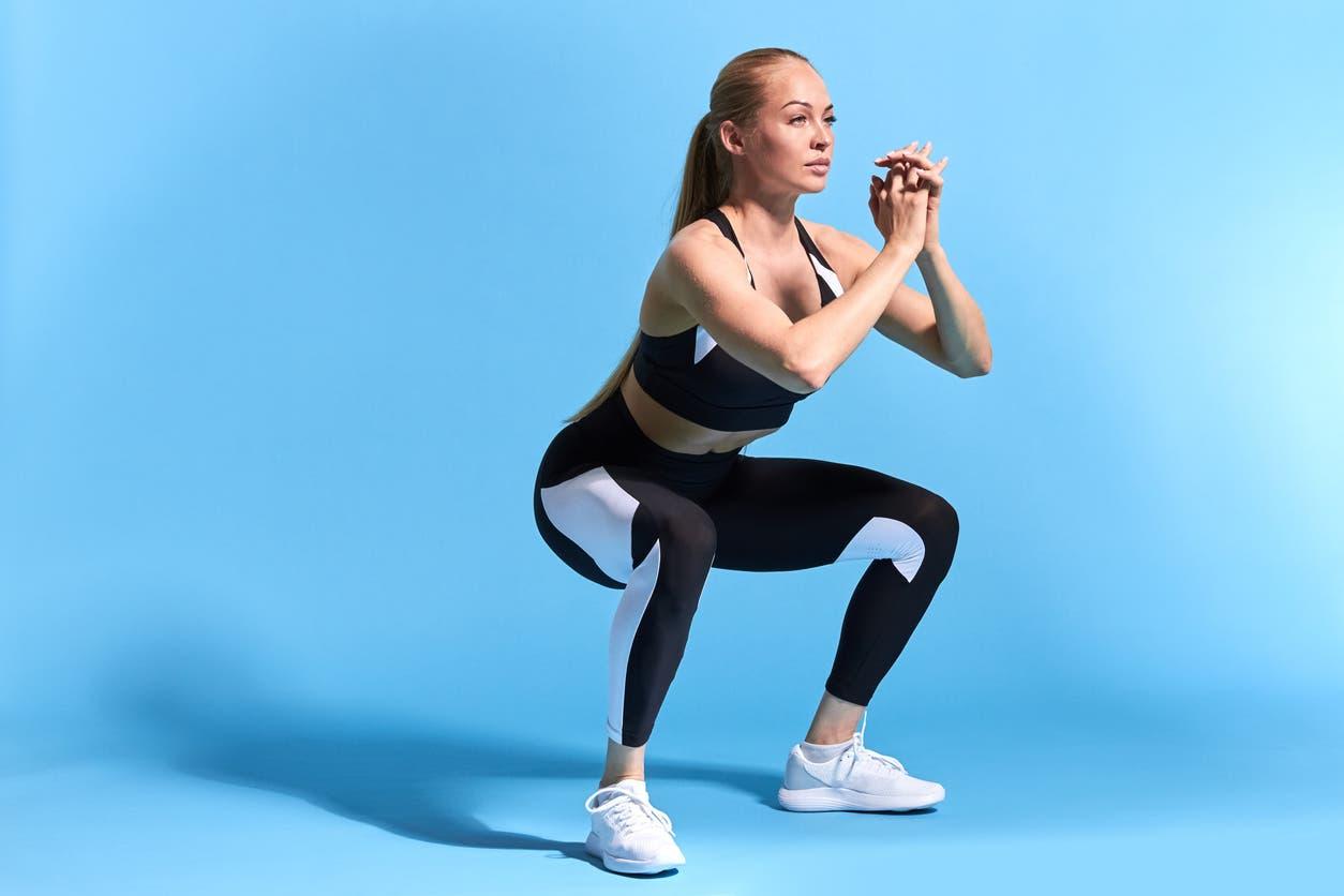 squat relevement talon