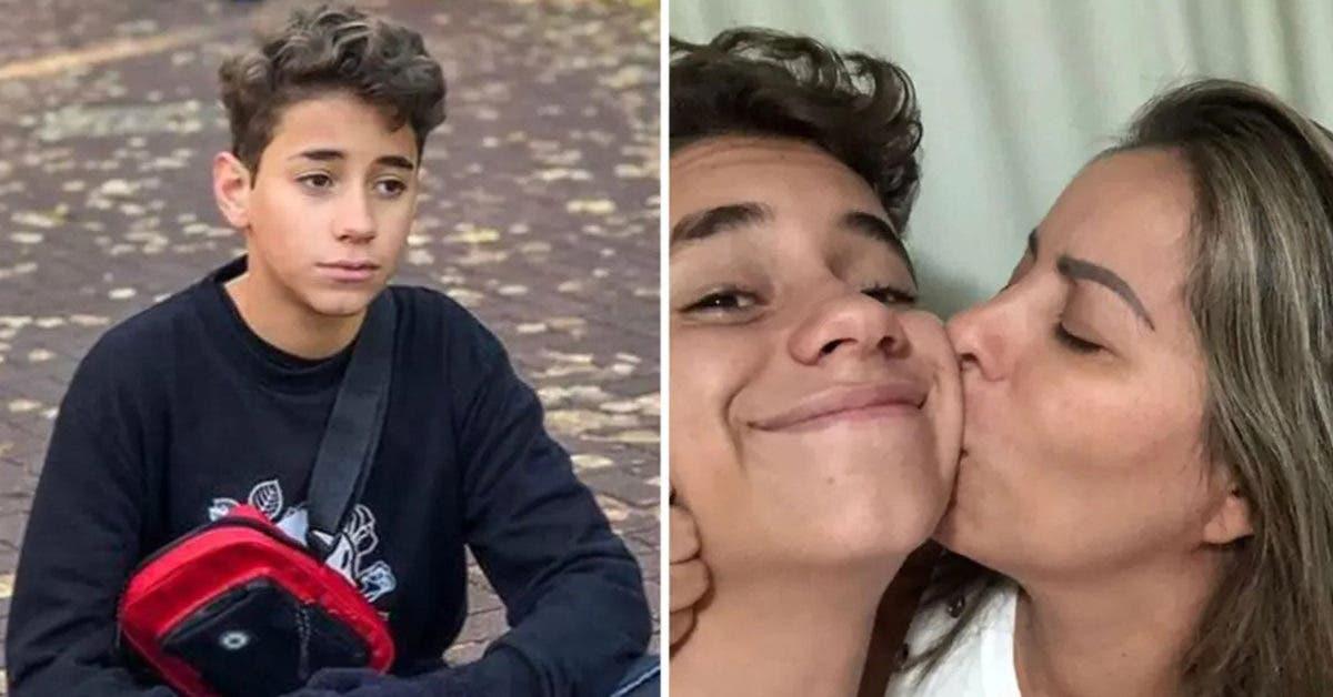 « Je t'aimerai pour toujours » Cette maman est « brisée » par le suicide de son fils adolescent après une blague qui a mal tourné