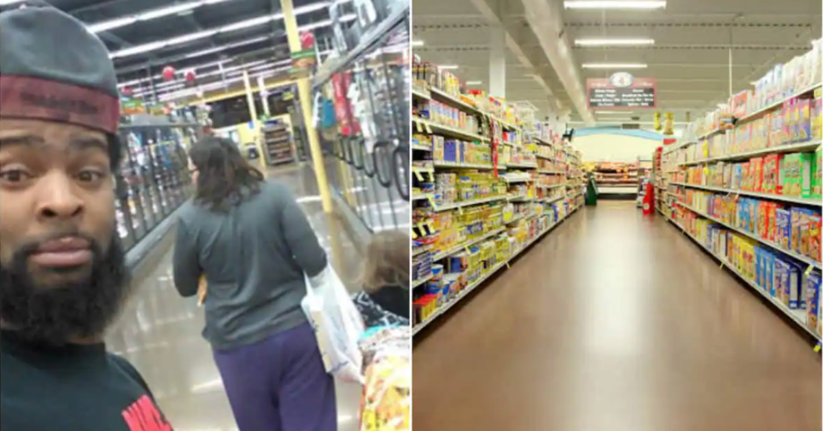 supermarché femme