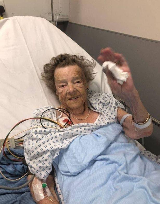 petite grand-mère est morte