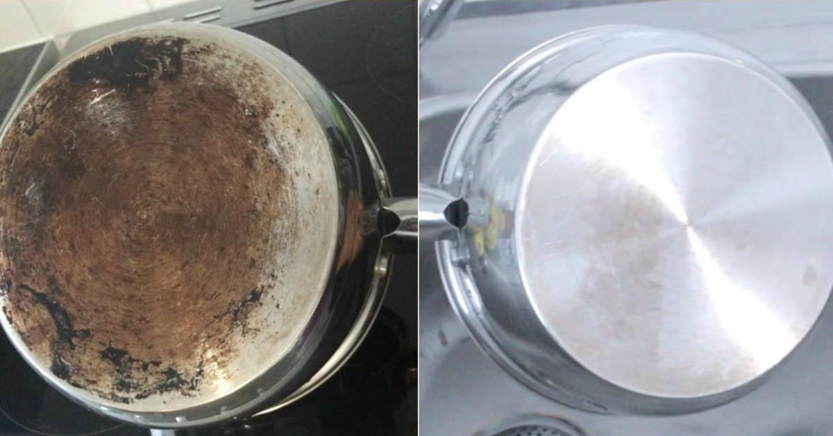 3 conseils puissants pour éliminer les taches tenaces des casseroles et des poêles
