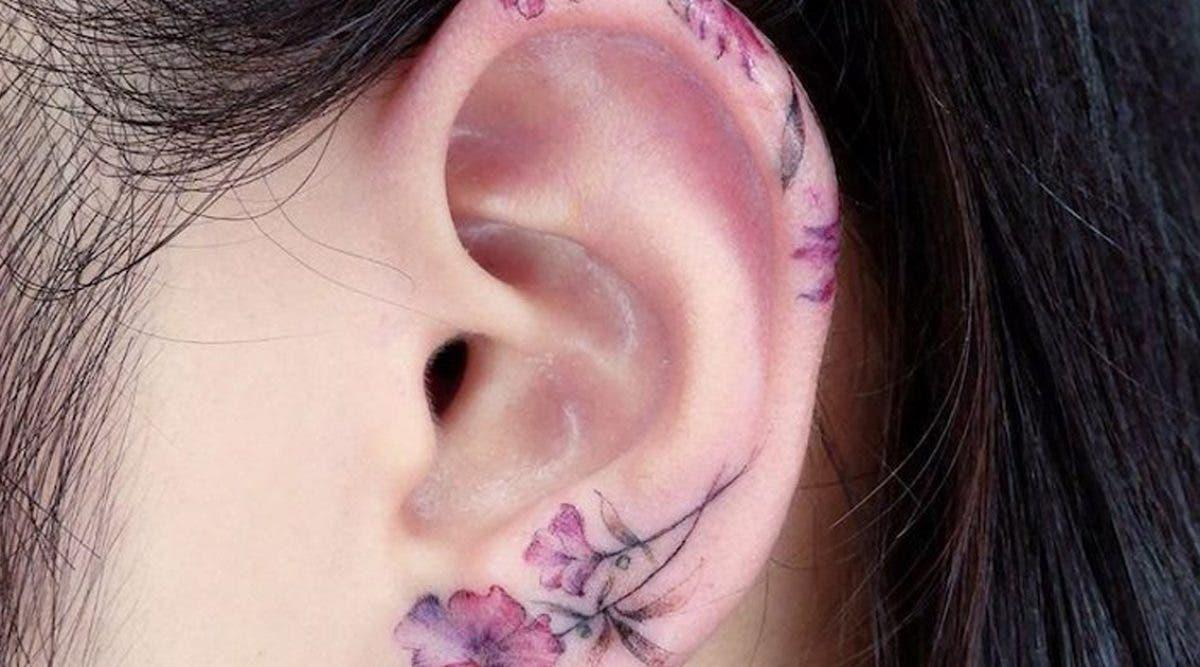 Tatouage d'oreilles : 27 modèles créatifs, tendance et discrets