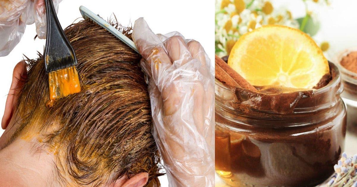 Teinture naturelle pour éclaircir les cheveux en peu de temps et sans produits chimiques