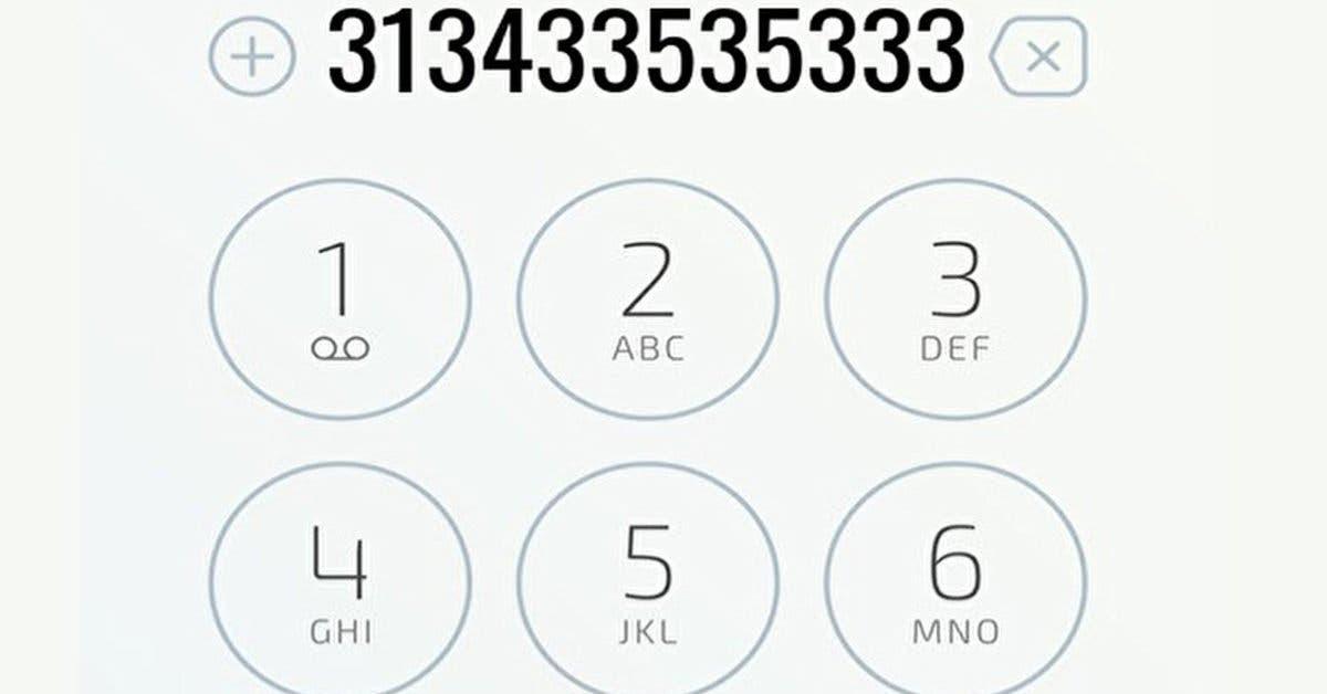 Test amusant. Combien de fois voyez-vous le numéro 3 sur l'image ?
