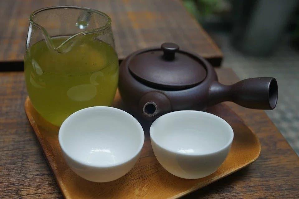 le régime au thé vert
