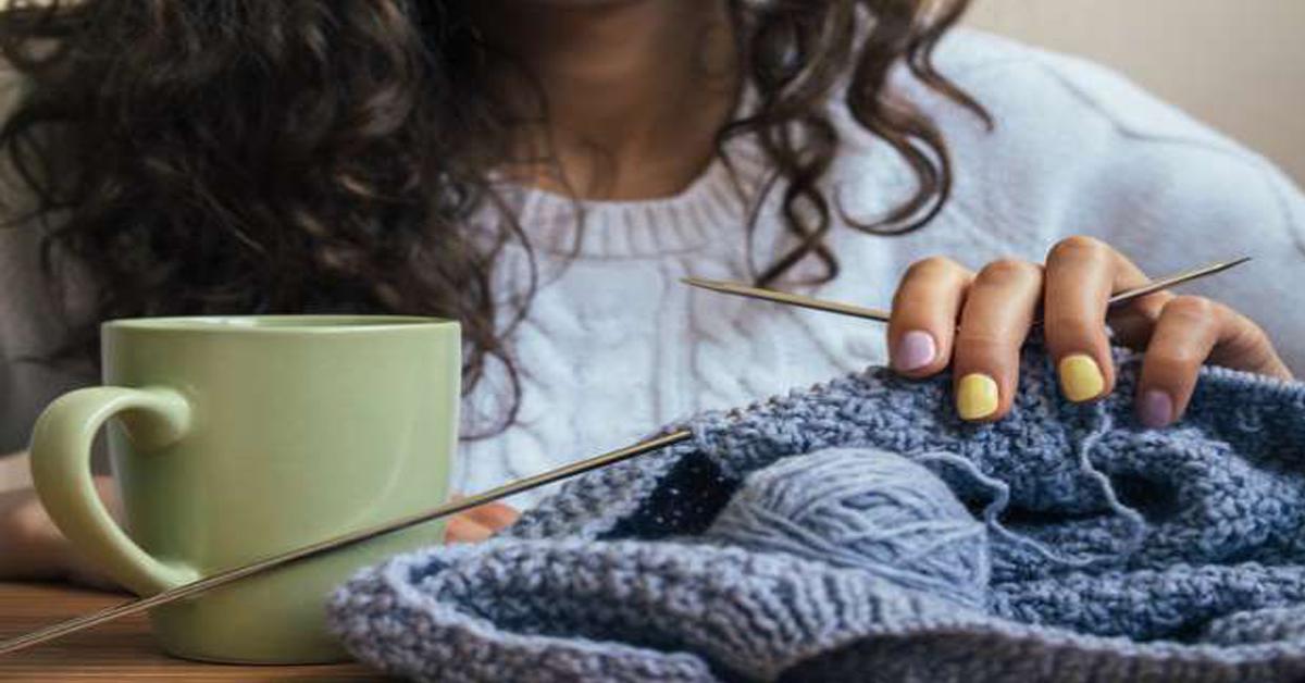tricoter est excellent pour la santé