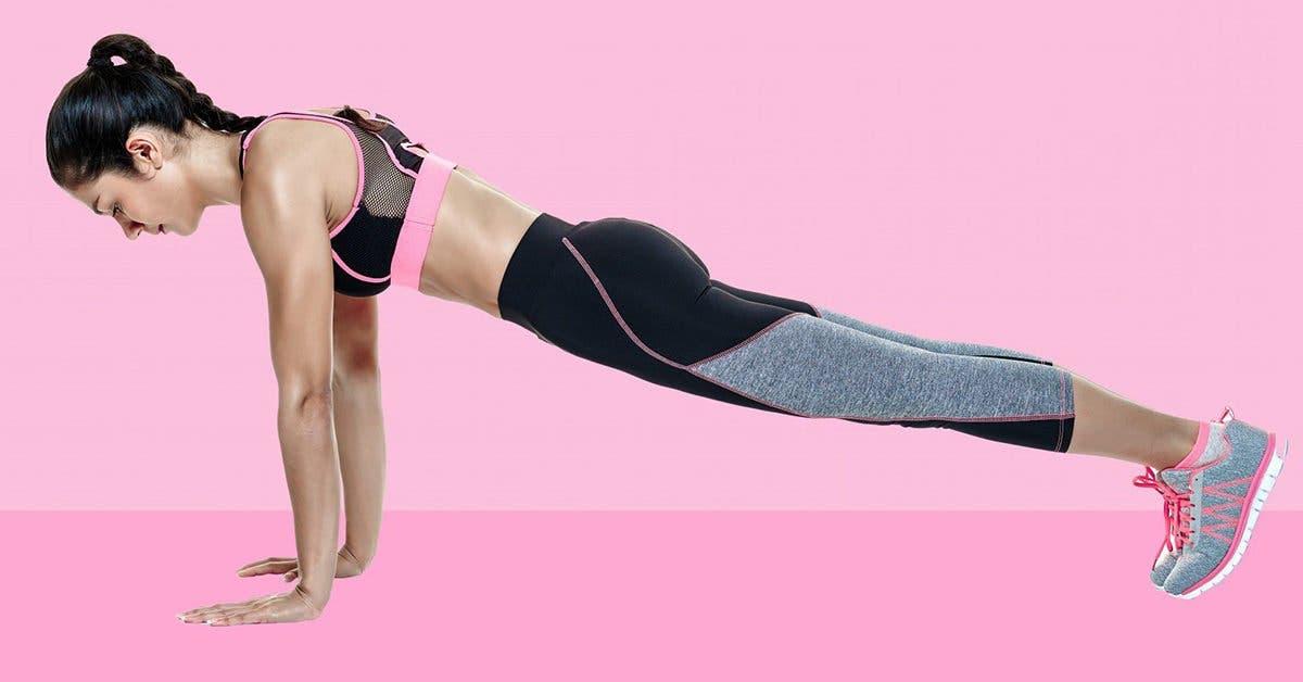 3 types de planches pour réduire la taille, tonifier les jambes et les fesses