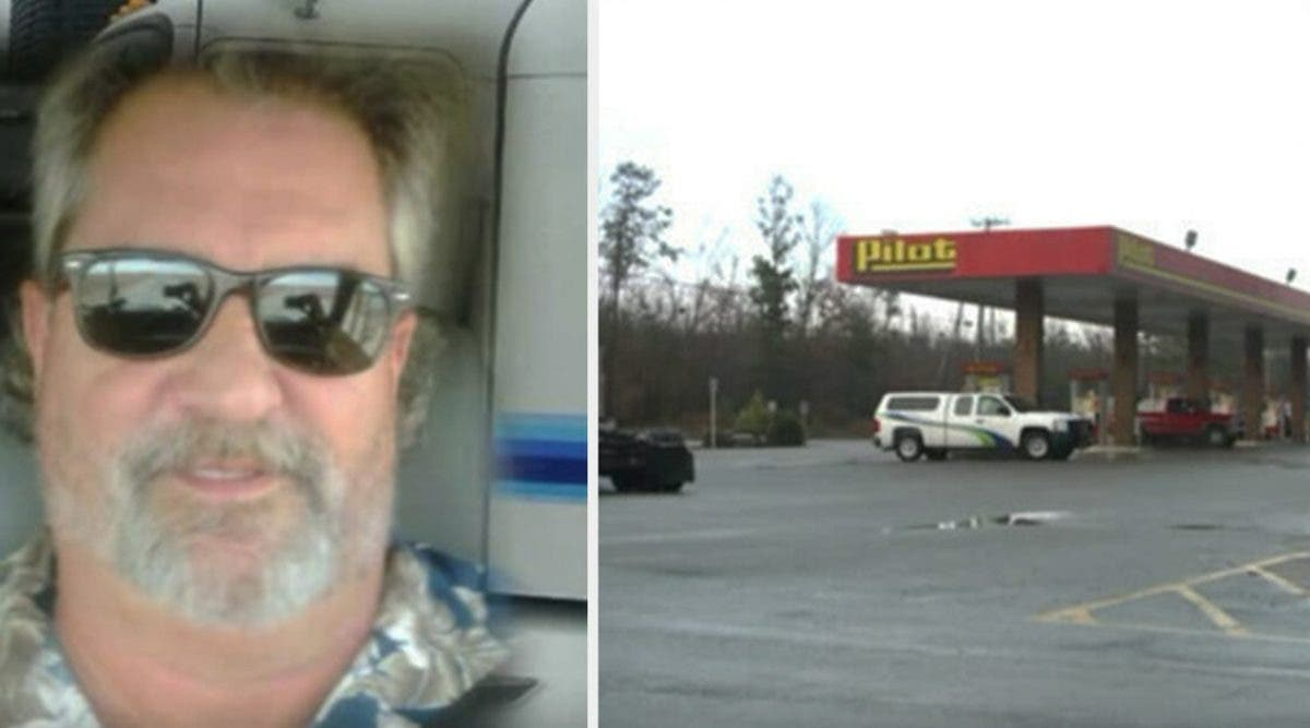 un-camionneur-voit-une-fille-assise-dans-une-voiture-et-se-rend-compte-quil-doit-prevenir-la-police