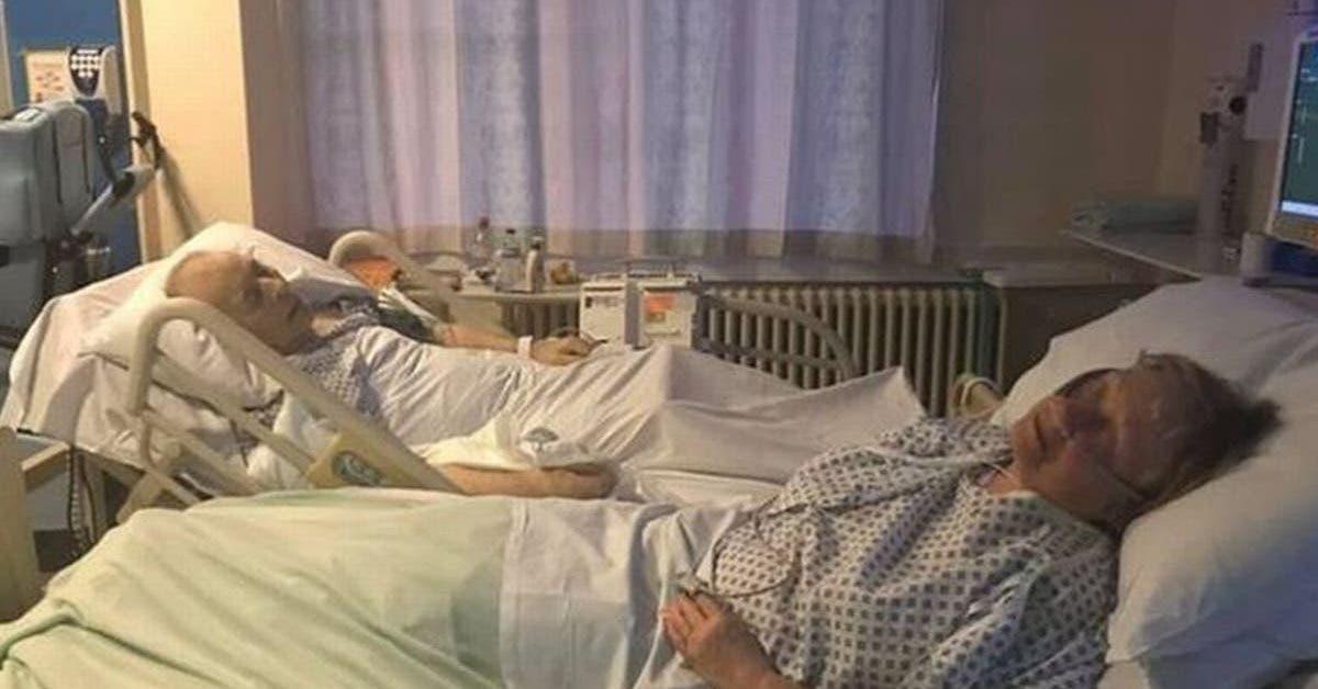 un couple mourant se tient la main dans son lit dhopital avant detre arrete pour meurtre 1
