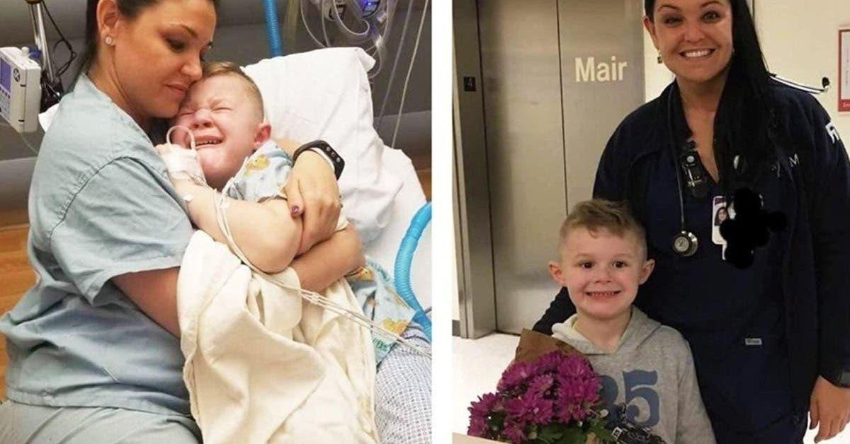 un-enfant-de-5-ans-se-reveille-de-la-chirurgie-sans-personne-a-ses-cotes-une-infirmiere-sapproche-et-le-serre-fort