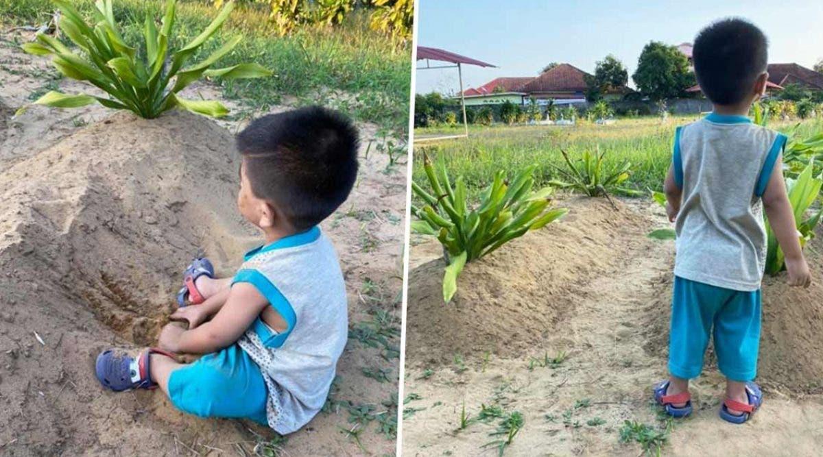 un-enfant-refuse-de-quitter-la-tombe-de-ses-parents-sans-savoir-quils-sont-partis-pour-toujours