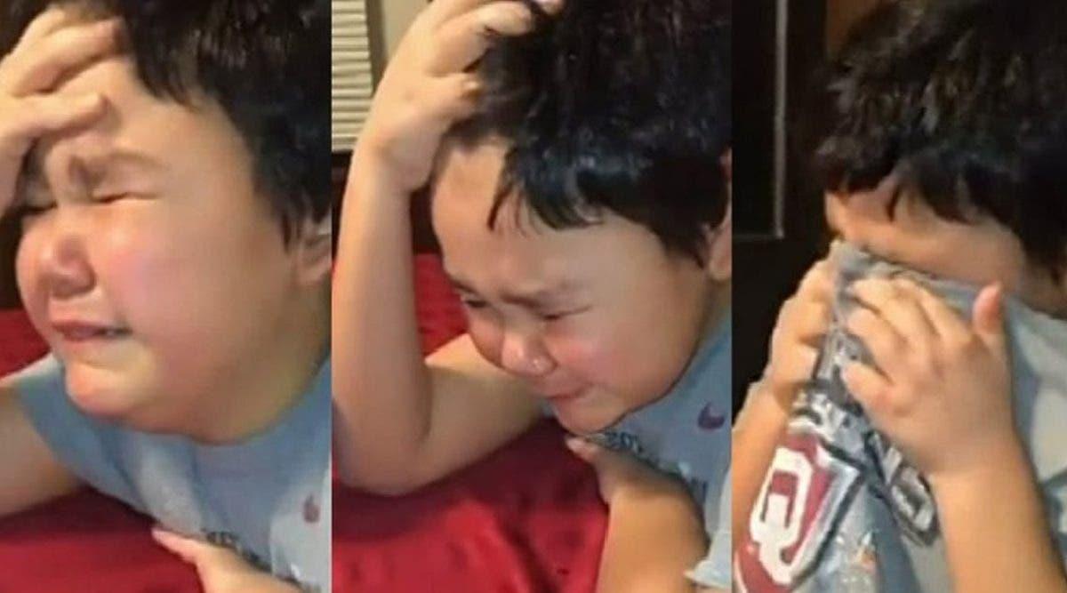 un-garcon-de-9-ans-explose-en-pleure-lors-de-sa-derniere-chimiotherapie-contre-le-cancer