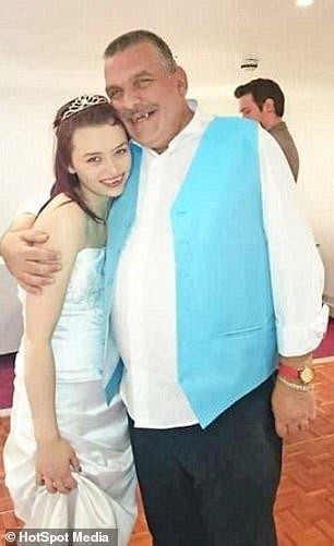 un homme de 44 ans épouse une jeune fille de 16 ans