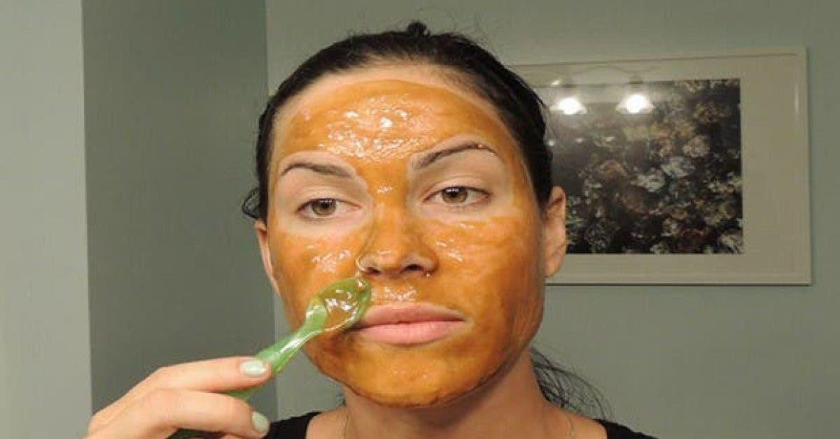 un masque pour attenuer facilement rides taches et imperfections 1