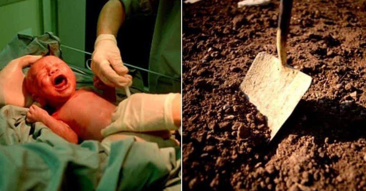 un-nourrisson-de-3-jours-enterre-vivant-et-enferme-dans-un-pot-en-argile-il-a-ete-retrouve-par-des-parents-qui-venaient-enterrer-leur-bebe