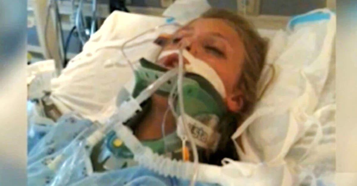 une adolescente en mort cerebrale se reveille soudain du coma profond apres que sa famille ait prie pour elle 1