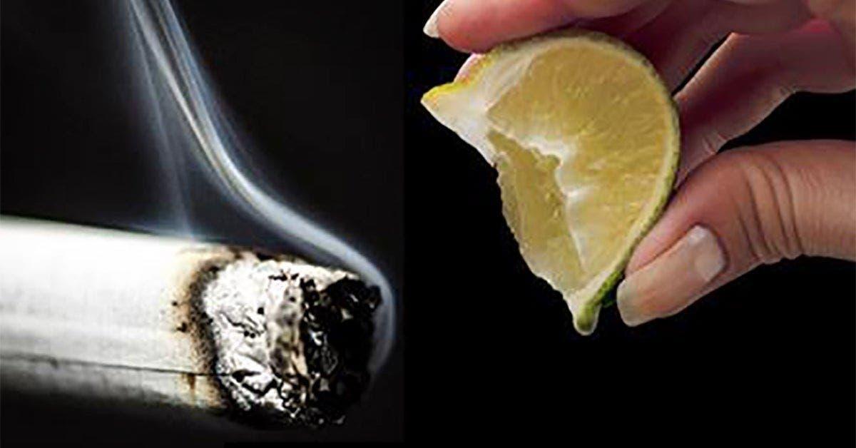 une ancienne astuce au citron pour arreter de fumer a utiliser a la place des patchs et des gommes a la nicotine 1 1