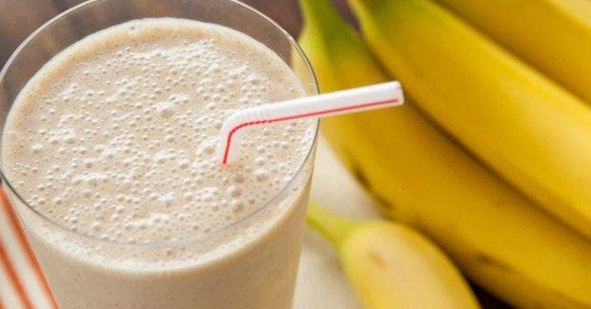 une boisson a la banane pour bruler la graisse du ventre 1