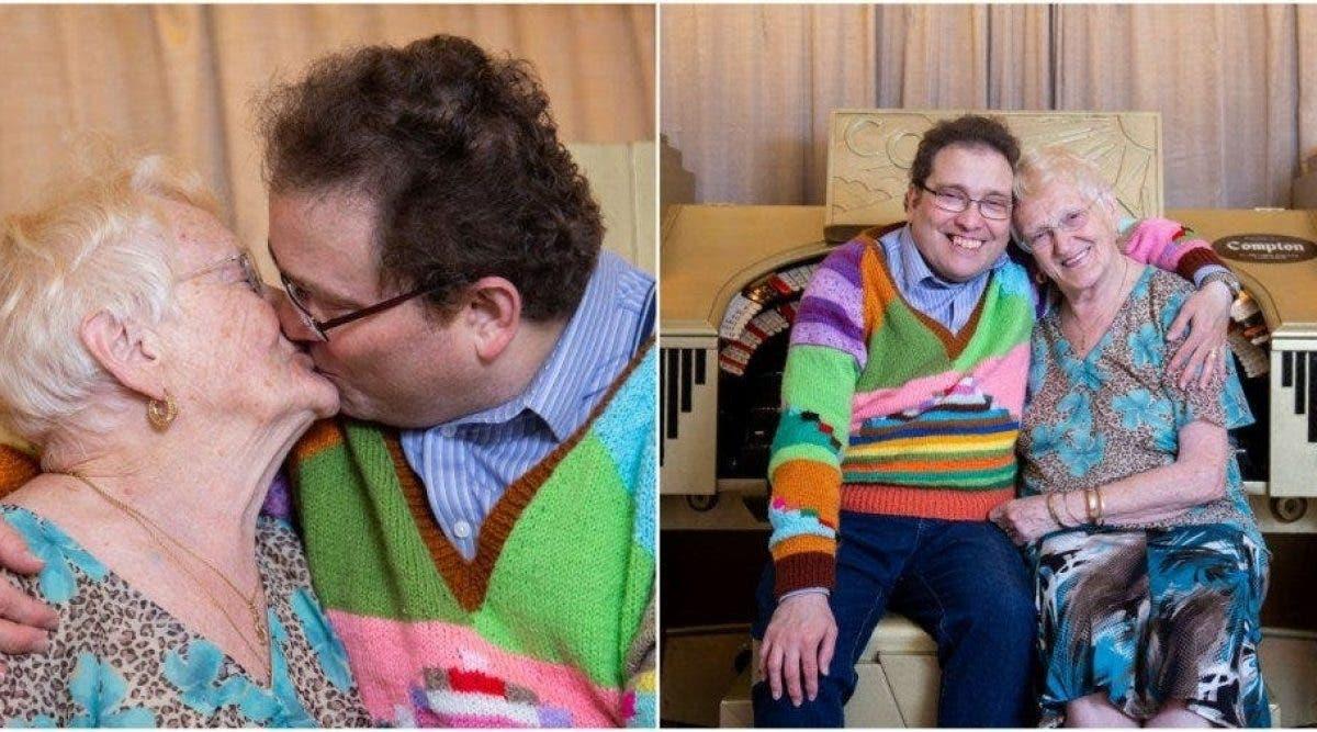 Une femme de 83 ans dit avoir une vie sexuelle heureuse avec son mari plus jeune qu'elle de 40 ans