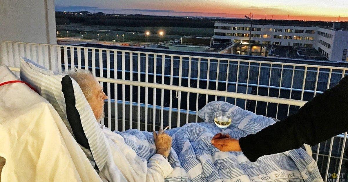 une infirmiere enfreint les regles de lhopital pour offrir a ce vieil homme mourant son dernier voeu 1 1