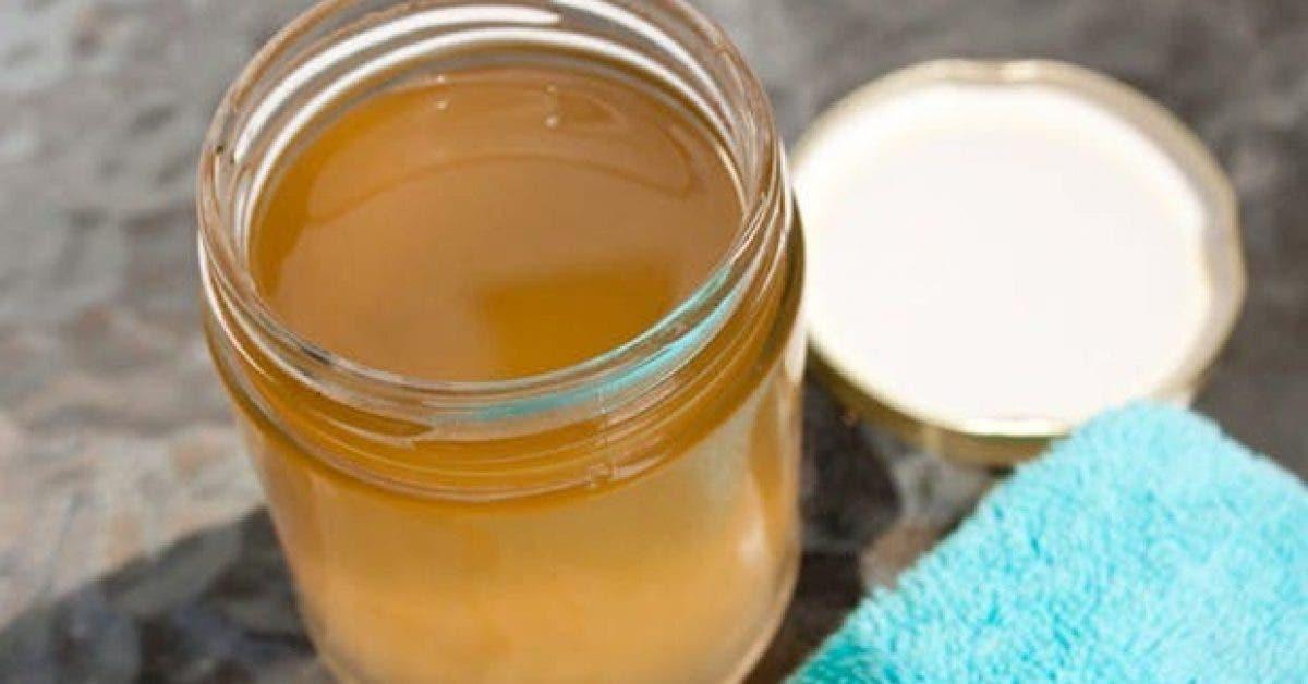 une lotion a base de vinaigre de cidre pour nettoyer votre visage 1
