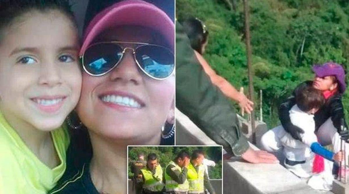 Après s'être retrouvée sans abri, une maman saute d'un pont avec son fils