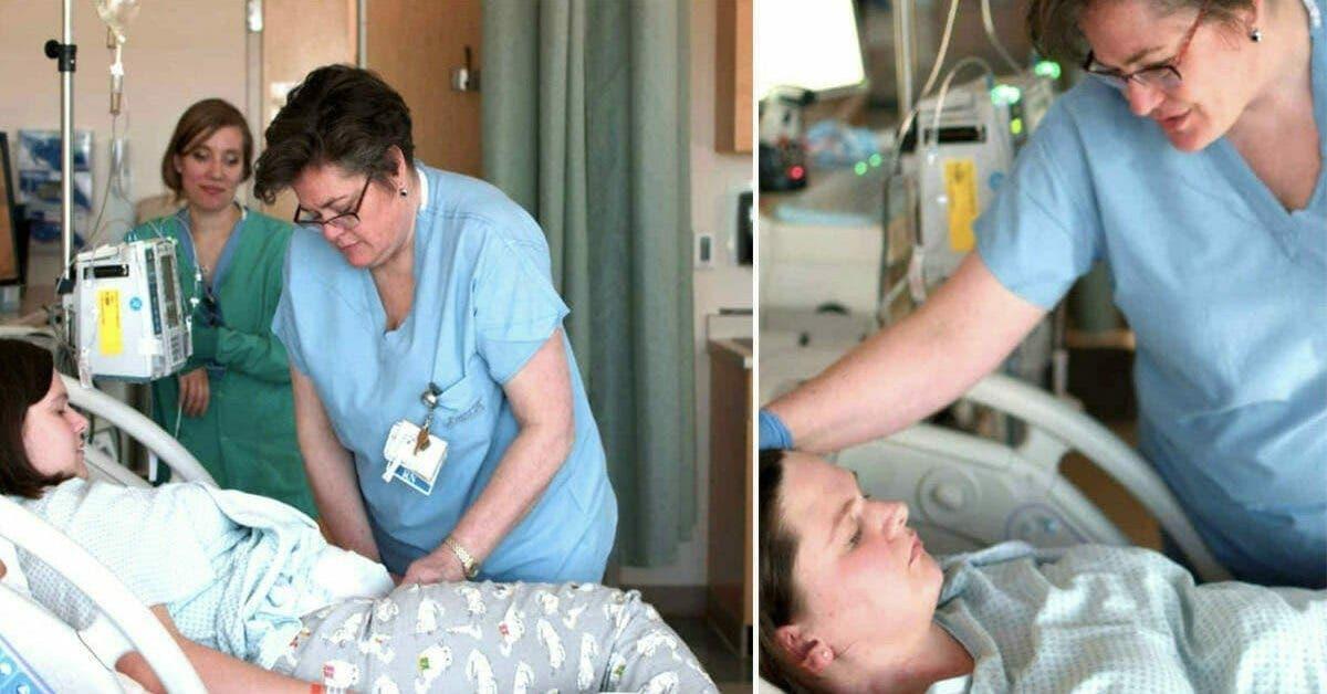 une mere en pleurs donne naissance a un bebe mort ne mais je naurais jamais cru que le commentaire de linfirmiere resterait a jamais grave dans sa memoire 1 1