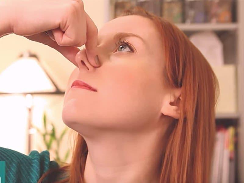 une méthode de se débarrasser du rhume en 25 secondes