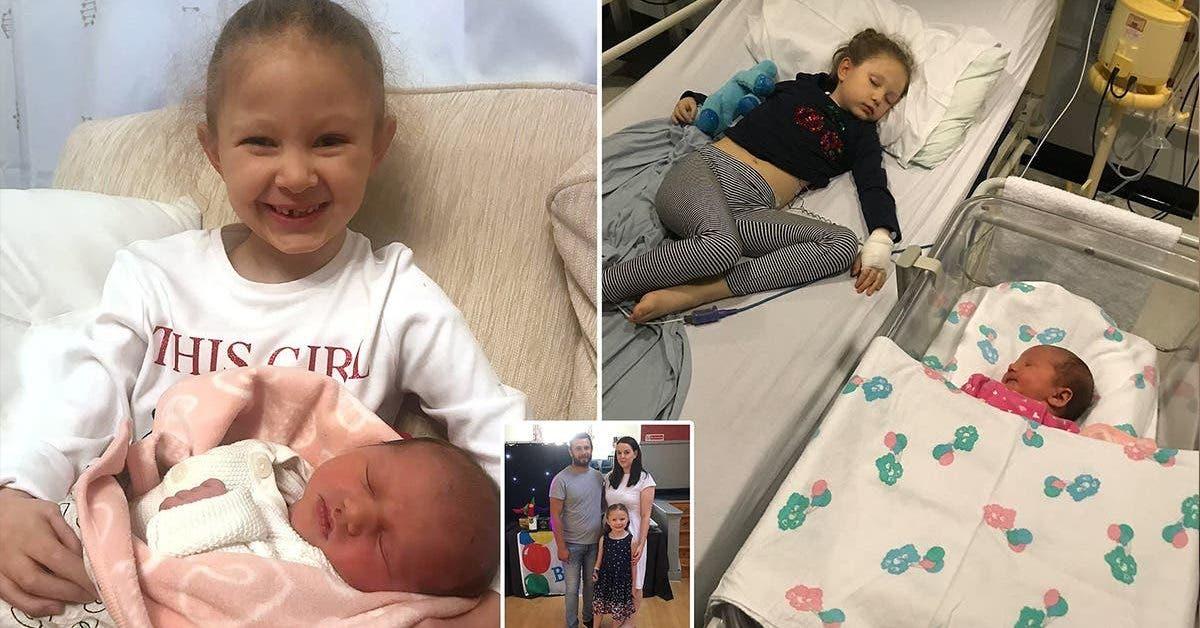 une petite fille 6 ans meurt cinq jours apres la naissance de sa petite soeur 1