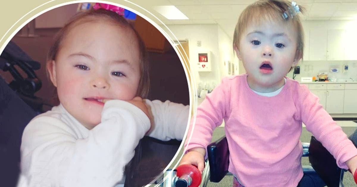 une petite fille trisomique rentre a la maison apres deux ans de combat contre le cancer 1