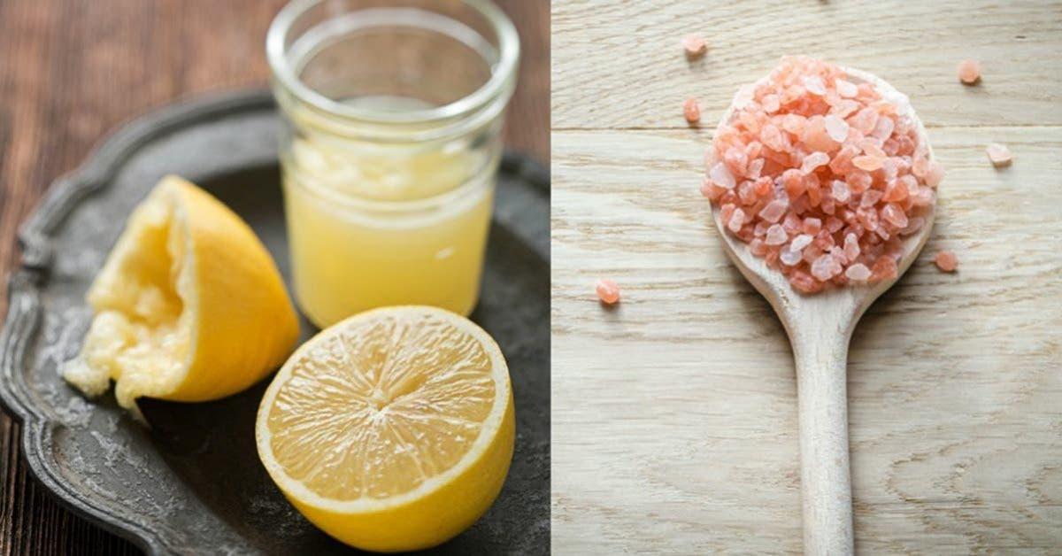 une recette au citron et au sel pour stopper immediatement la migraine 2