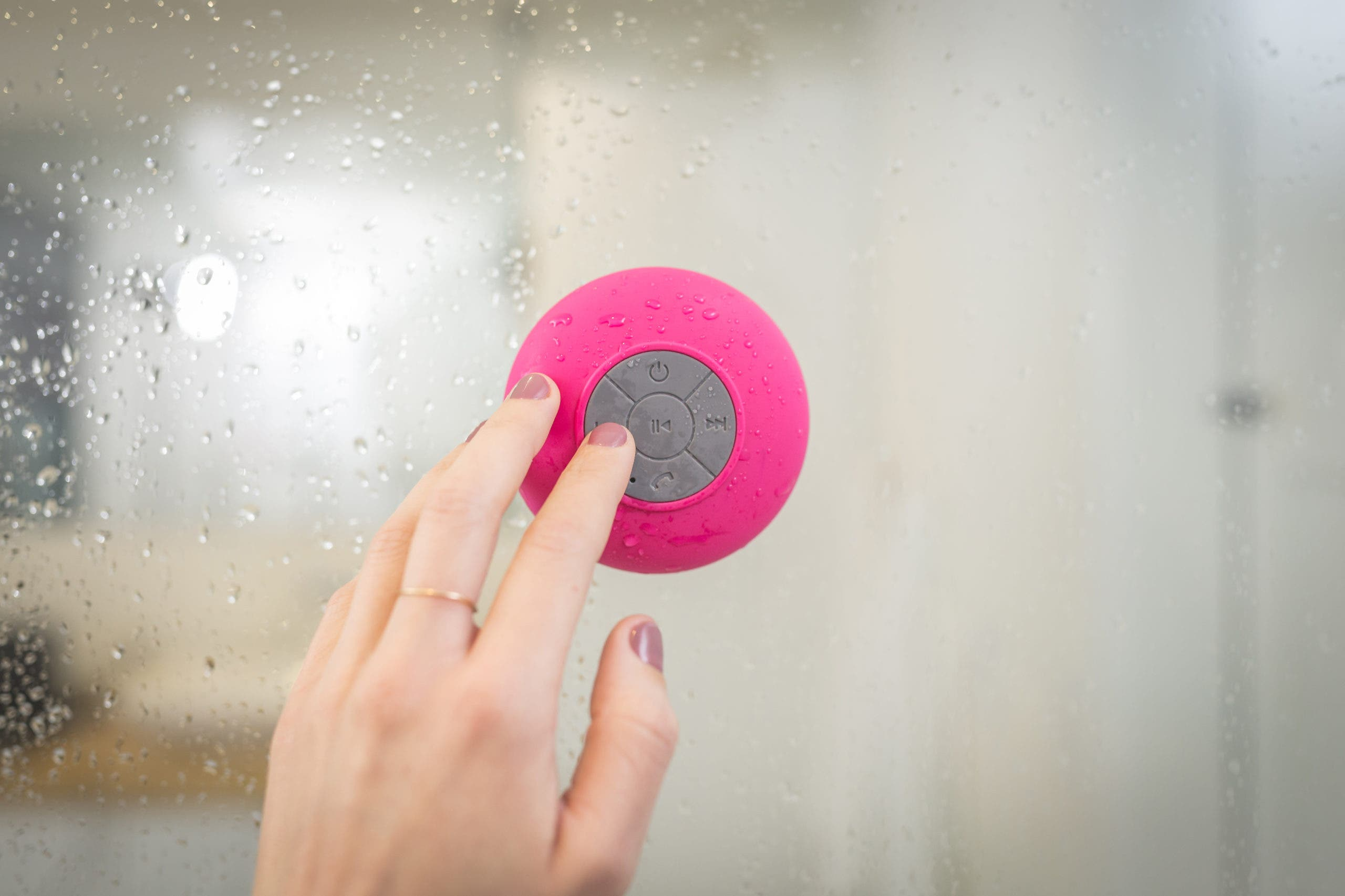 vapeur de la douche