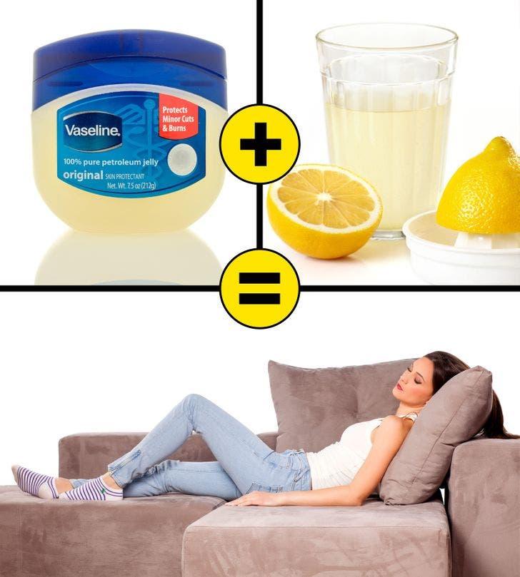 vaseline jus de citron